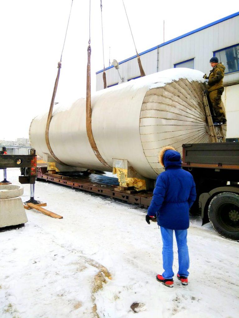 Такелажные работы в Новосибирске